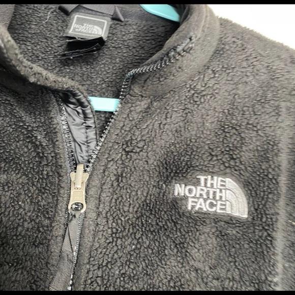 Women North Face Osito 2 Jacket Black Full Zip